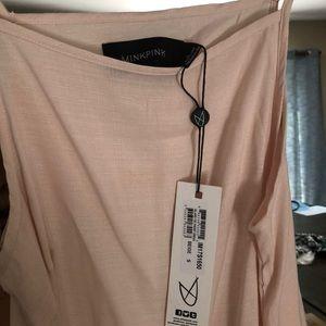 74ef8a3ee94 MINKPINK Dresses - Blush Tie Front Sun Dress